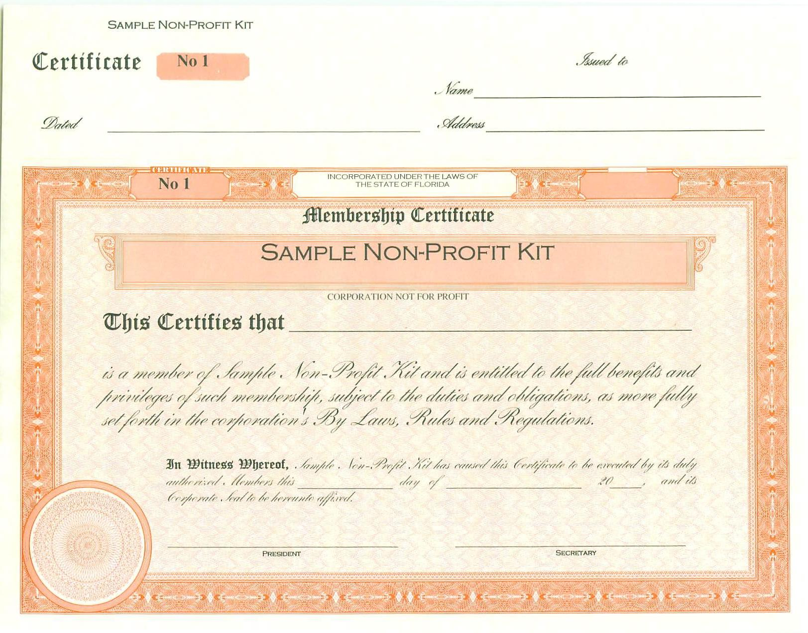 Corporate filing documents for llc and ltd florida your capital certificates numbered yadclub Choice Image