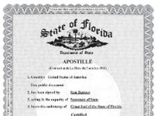 Apostille Document
